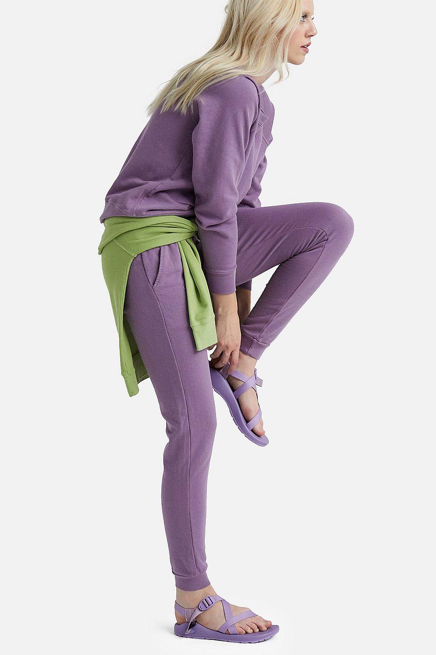 MATE The Label Organic Terry Raglan Sweatshirt - LAVENDER