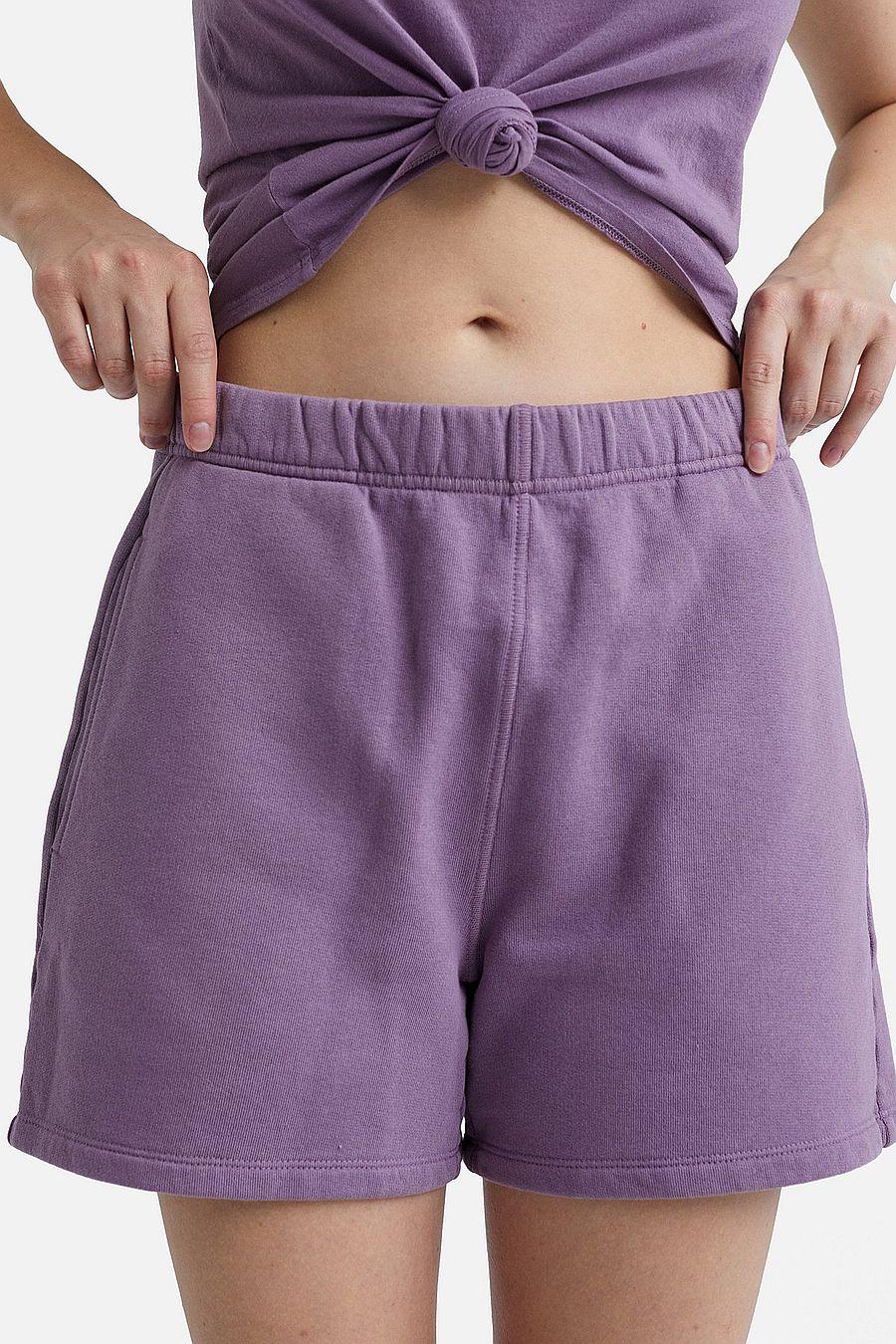 MATE The Label Fleece Pocket Short - LAVENDER