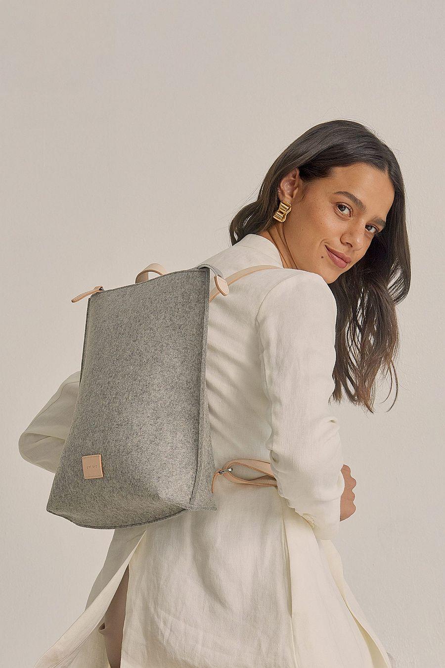Graf Lantz Hana Backpack Felt - Granite