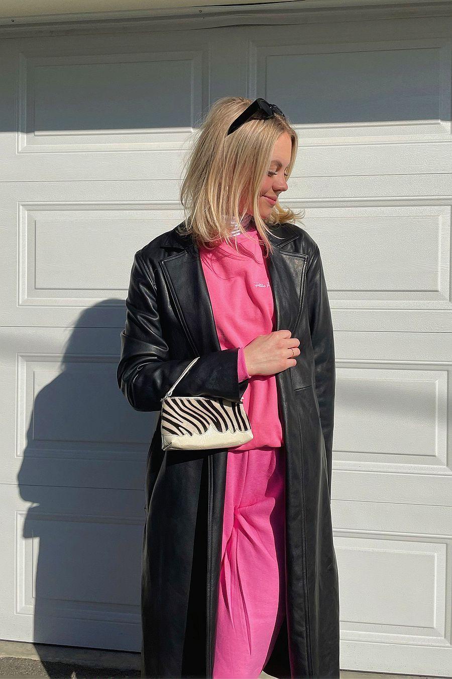 Petites Reveries Bella Crewneck | Pink Taffy
