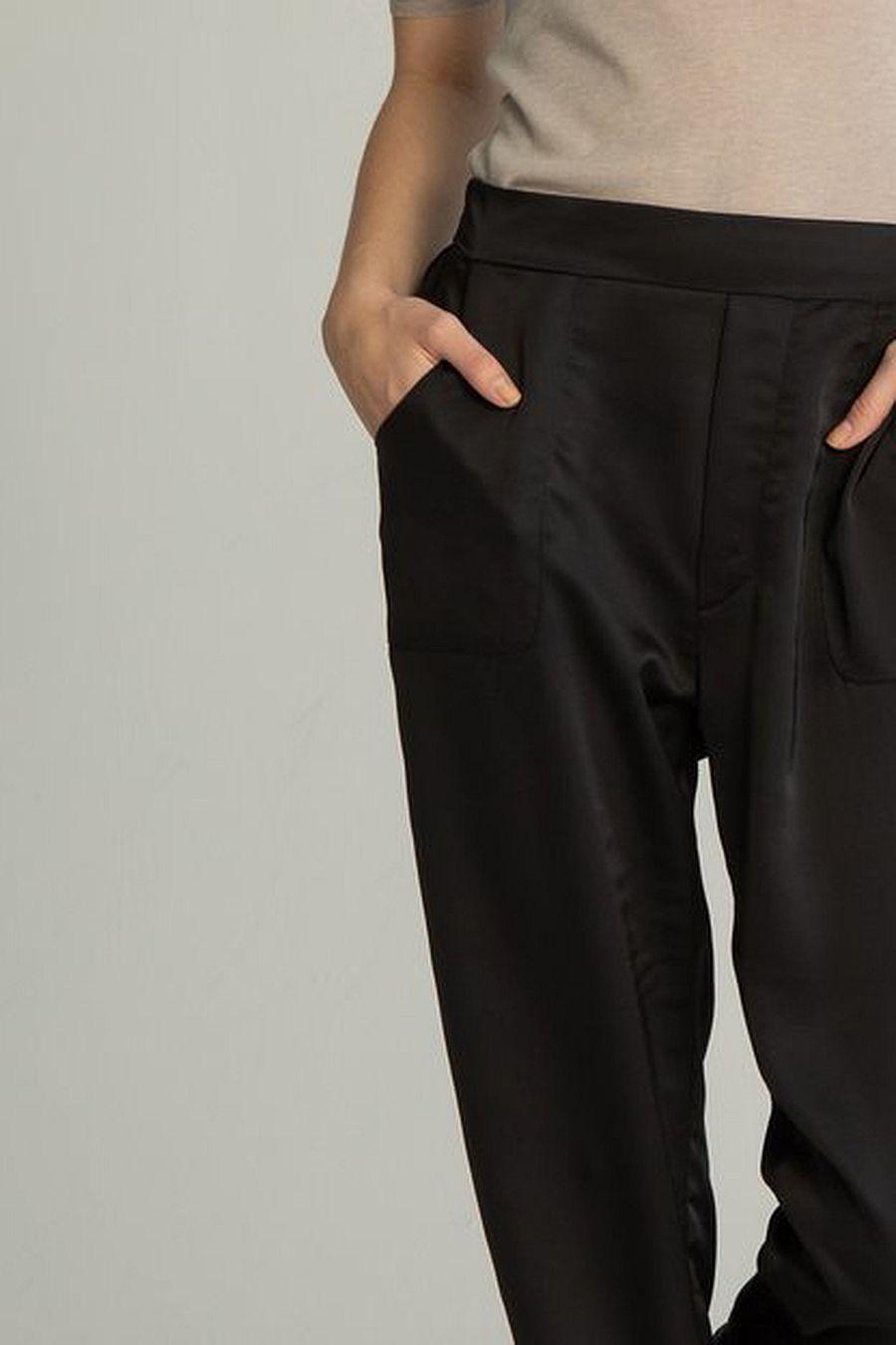 Almina Concept High Waisted Pant - Black