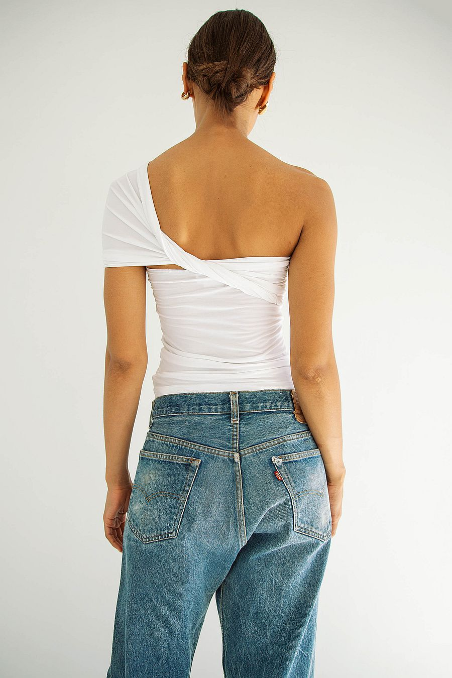 The Line by K Kyo Tube Top - White