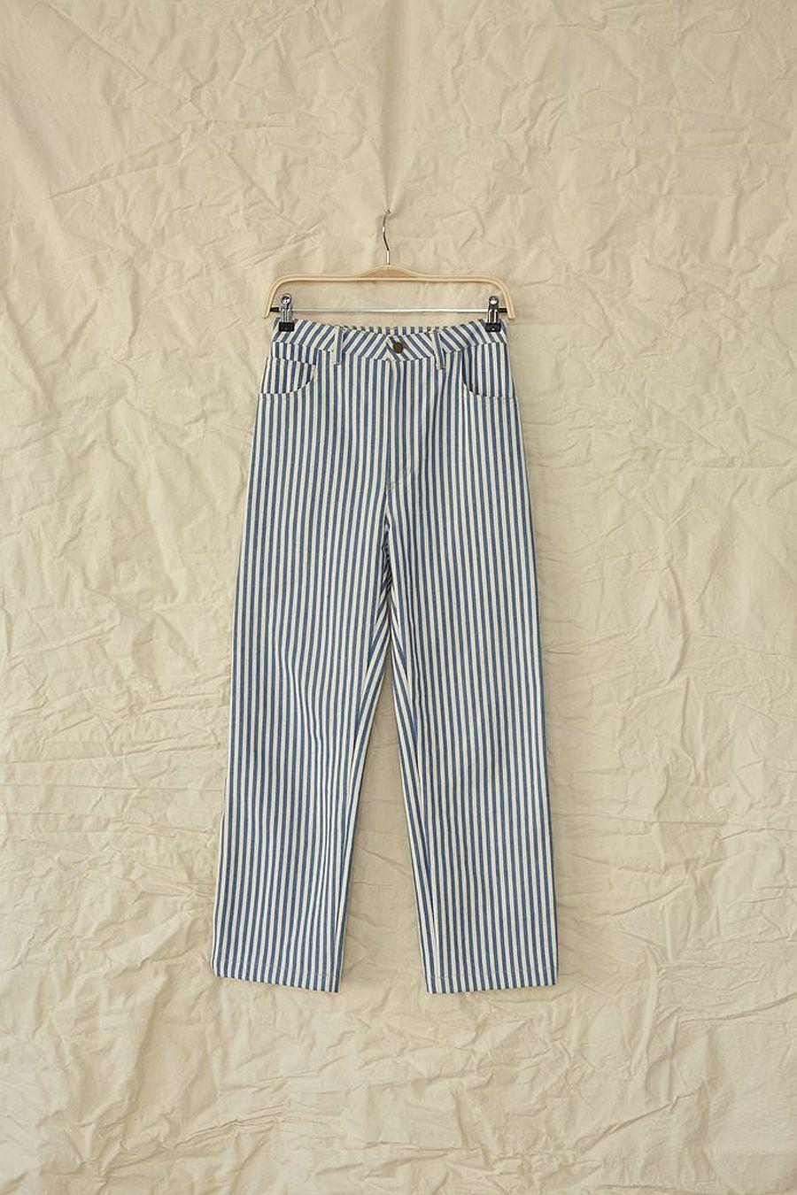 Lykke Wullf June Painter Pant - Striped