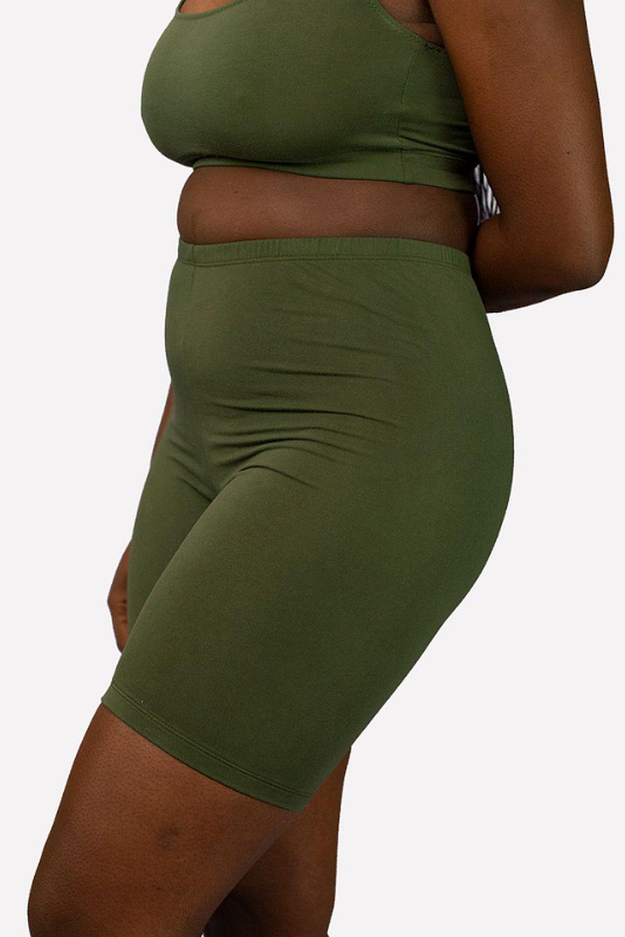 Hara The Label Olive Gabi Bike Shorts