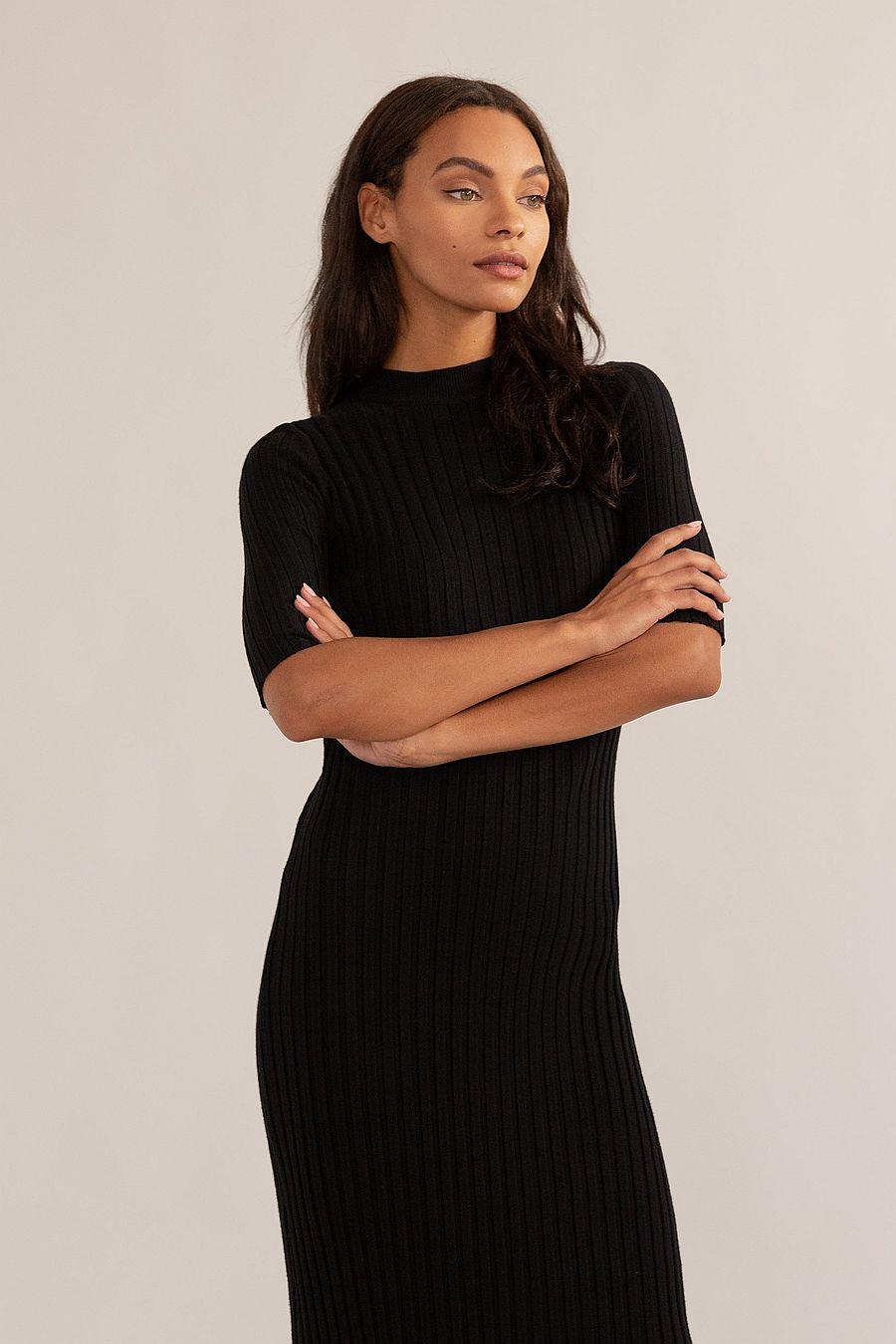 Modern Citizen Reita Ribbed Sweater Dress