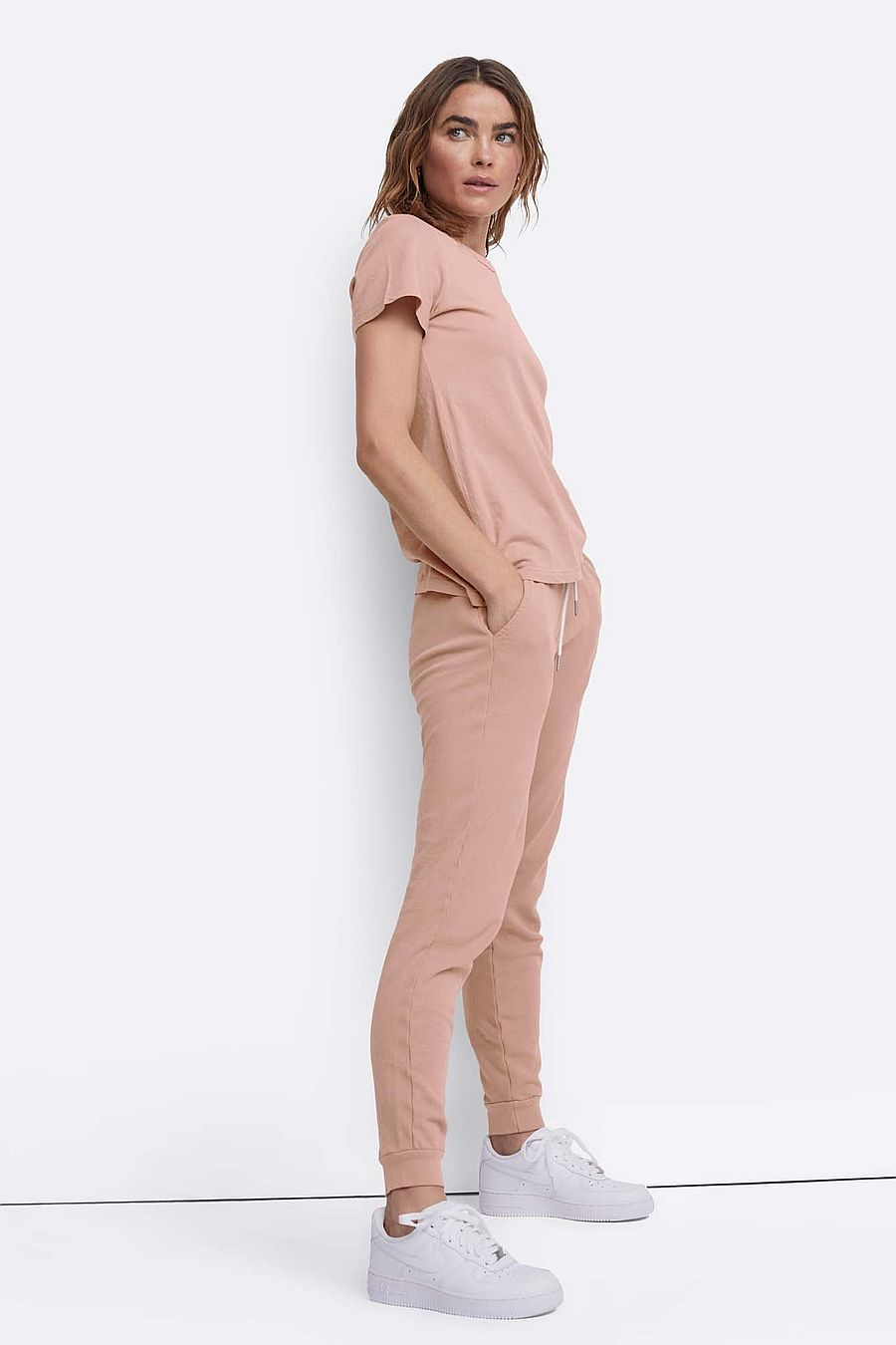 MATE The Label Organic Terry Classic Jogger - ROSE