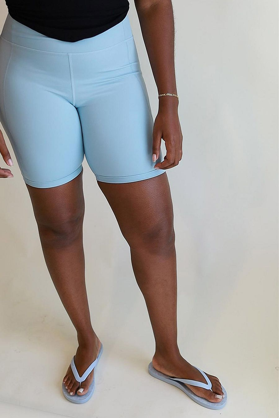 Girlfriend Collective Sky High rise bike short