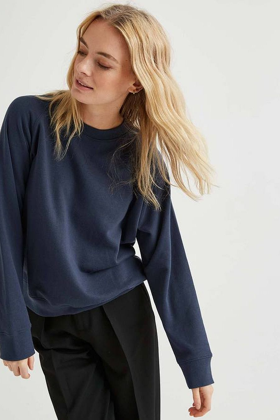 Richer Poorer Fleece Sweatshirt - Blue Nights