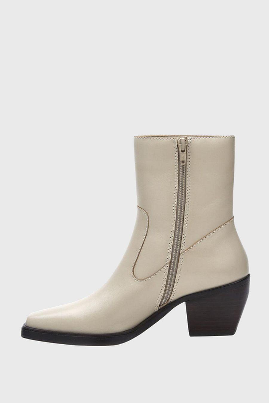 Matisse Footwear Ezra Western Boot - bone