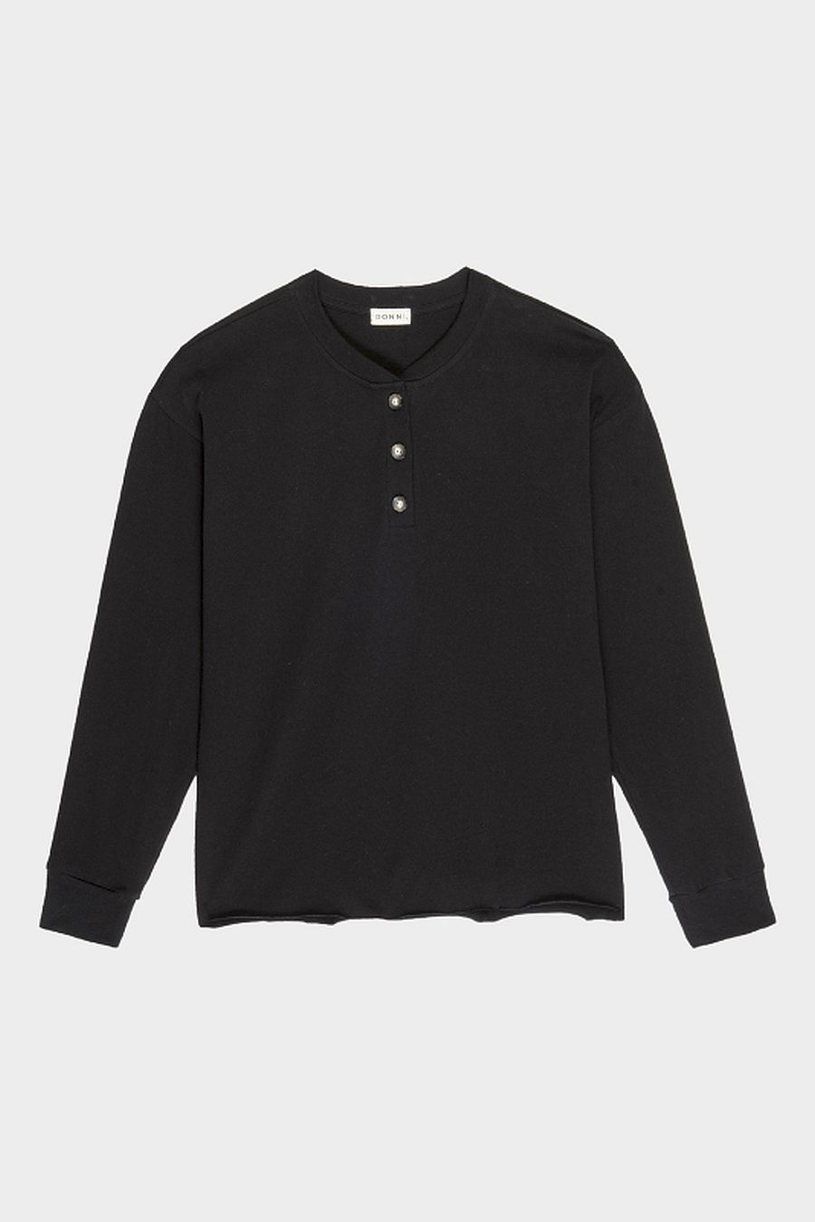 DONNI. Henley Tee - Jet