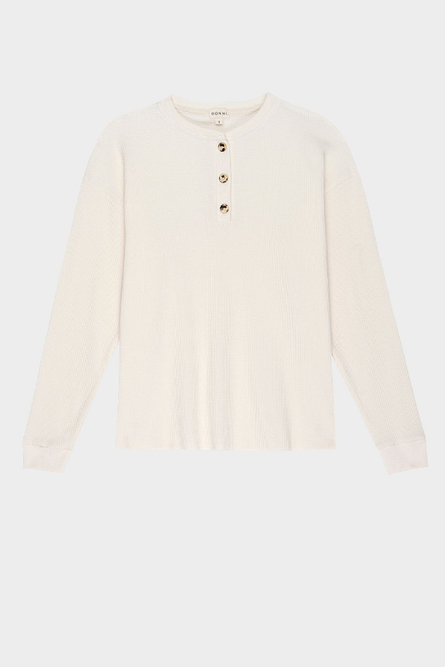 DONNI. Thermal Henley - Creme