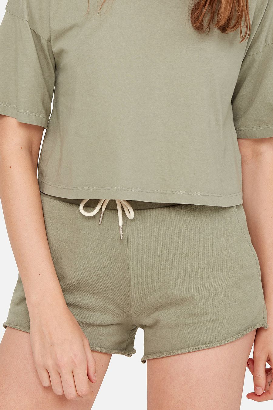 MATE The Label Organic Terry Lounge Short - SAGE