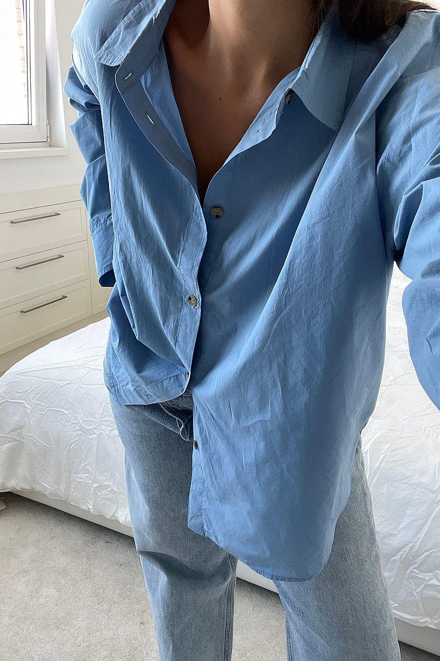 DONNI. Pop Shirt - Denim