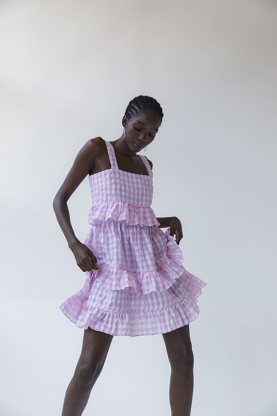 Tach Clothing Amaral Dress - Pink